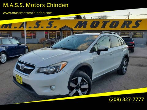 2015 Subaru XV Crosstrek for sale at M.A.S.S. Motors Chinden in Garden City ID