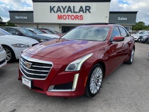 2015 Cadillac CTS for sale at KAYALAR MOTORS in Houston TX