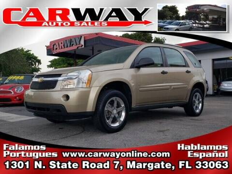 2007 Chevrolet Equinox for sale at CARWAY Auto Sales in Margate FL