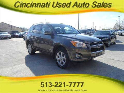 2012 Toyota RAV4 for sale at Cincinnati Used Auto Sales in Cincinnati OH