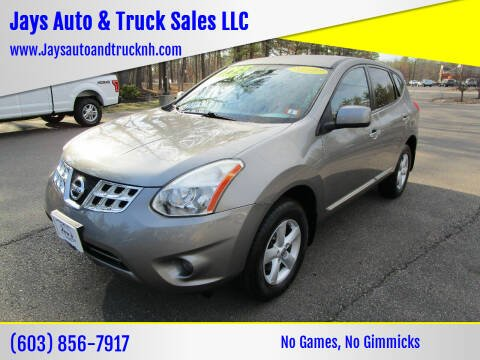2012 Nissan Rogue for sale at Jays Auto & Truck Sales LLC in Loudon NH