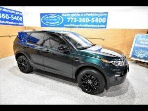 2017 Land Rover Discovery Sport for sale at Cj king of car loans/JJ's Best Auto Sales in Troy MI