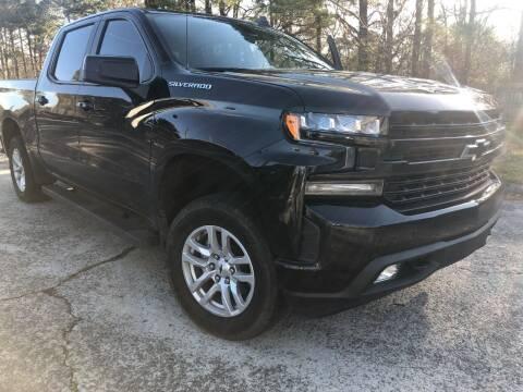 2019 Chevrolet Silverado 1500 for sale at Glamorous Motors in Woodstock GA