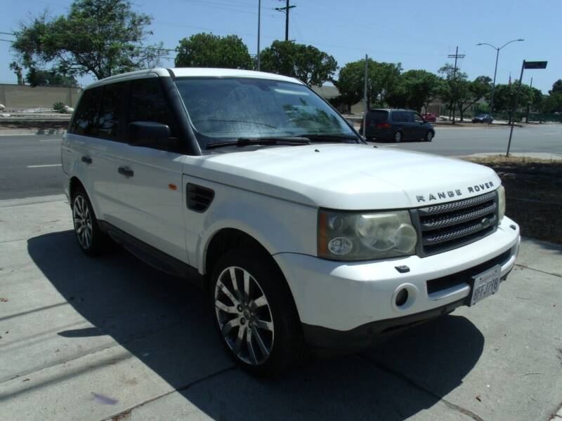 2007 Land Rover Range Rover Sport for sale at Hollywood Auto Brokers in Los Angeles CA