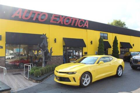 2017 Chevrolet Camaro for sale at Auto Exotica in Red Bank NJ