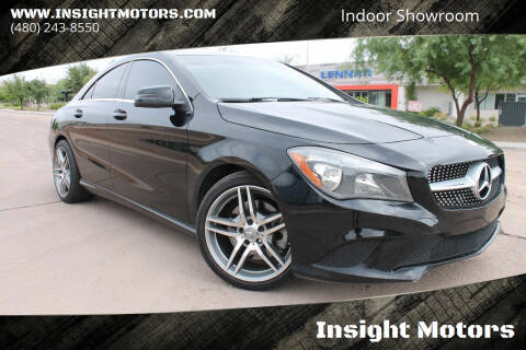 2014 Mercedes-Benz CLA for sale at Insight Motors in Tempe AZ