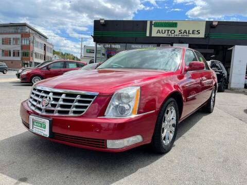 2009 Cadillac DTS for sale at Wakefield Auto Sales of Main Street Inc. in Wakefield MA