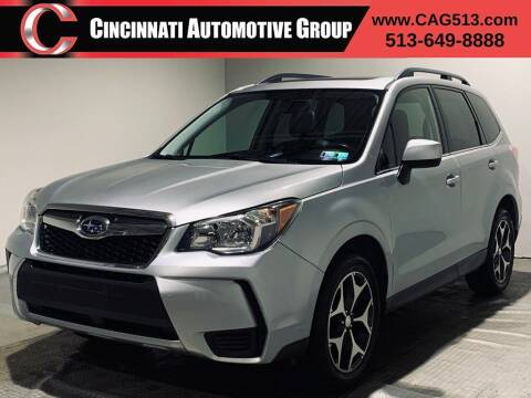 2014 Subaru Forester for sale at Cincinnati Automotive Group in Lebanon OH