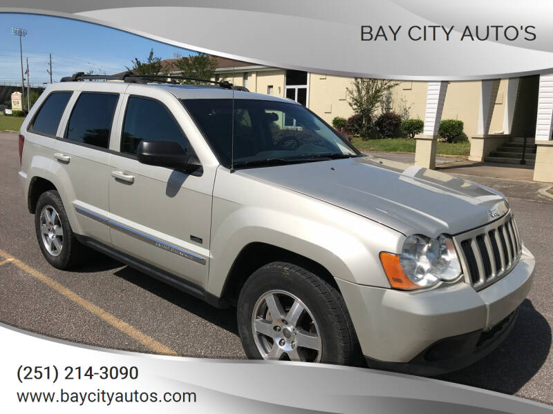 2009 Jeep Grand Cherokee for sale at Bay City Auto's in Mobile AL