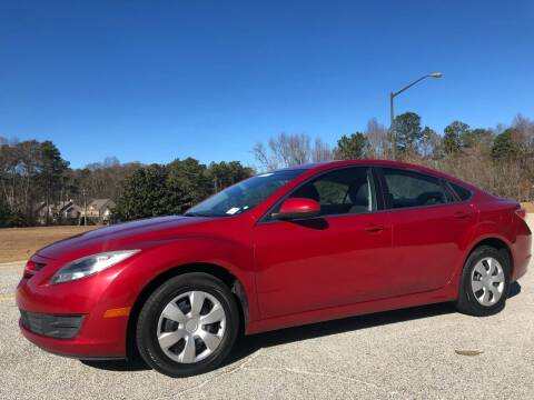 2012 Mazda MAZDA6 for sale at WIGGLES AUTO SALES INC in Mableton GA
