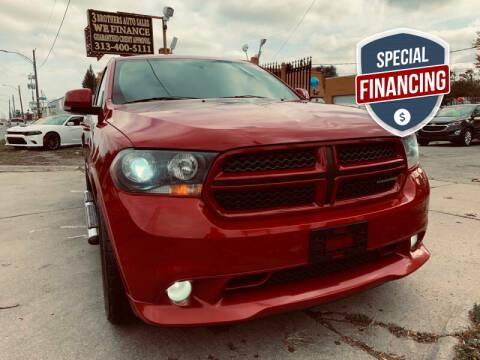 2013 Dodge Durango for sale at 3 Brothers Auto Sales Inc in Detroit MI