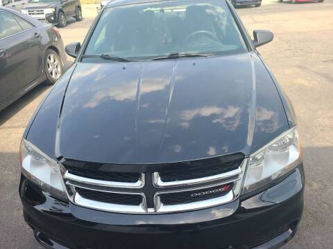 2013 Dodge Avenger for sale at All State Auto Sales, INC in Kentwood MI