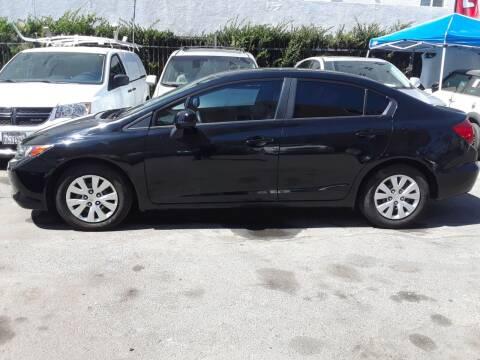 2012 Honda Civic for sale at Western Motors Inc in Los Angeles CA
