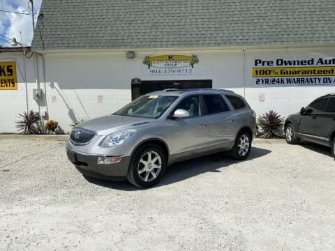 2008 Buick Enclave for sale at Klett Automotive Group in Saint Augustine FL
