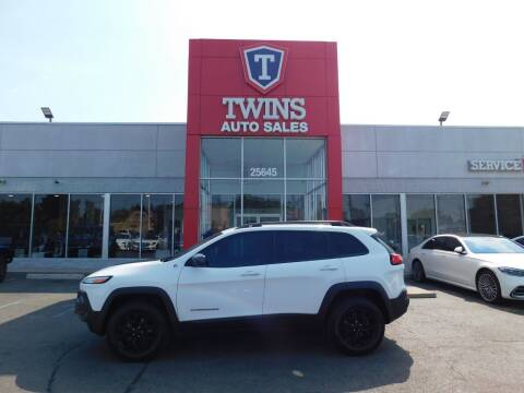 2017 Jeep Cherokee for sale at Twins Auto Sales Inc Redford 1 in Redford MI