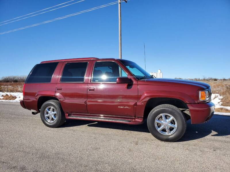 1999 GMC Yukon for sale at TNT Auto in Coldwater KS