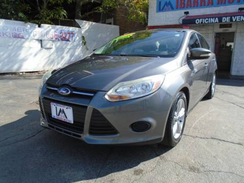 2014 Ford Focus for sale at IBARRA MOTORS INC in Cicero IL
