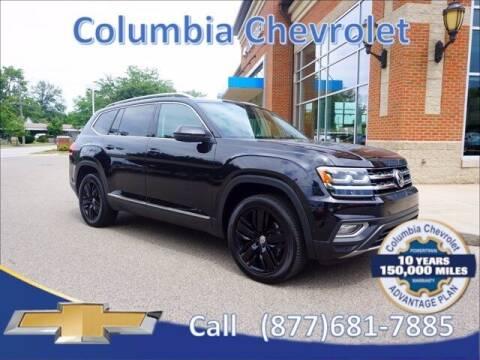 2019 Volkswagen Atlas for sale at COLUMBIA CHEVROLET in Cincinnati OH
