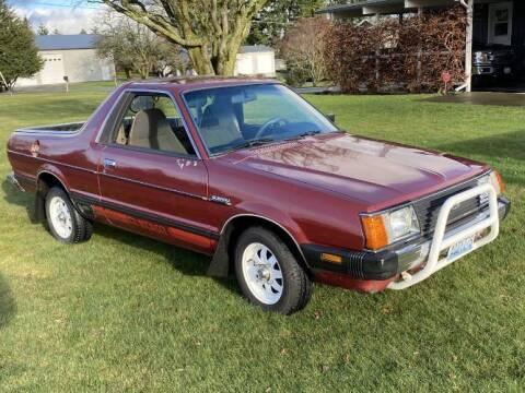 1982 Subaru Brat for sale at Classic Car Deals in Cadillac MI