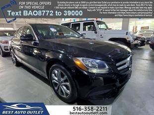 2018 Mercedes-Benz C-Class for sale at Best Auto Outlet in Floral Park NY