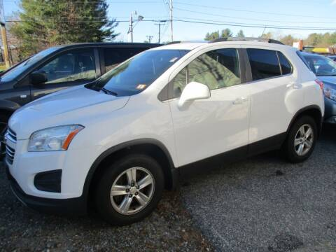 2015 Chevrolet Trax for sale at Metropolis Auto Sales in Pelham NH