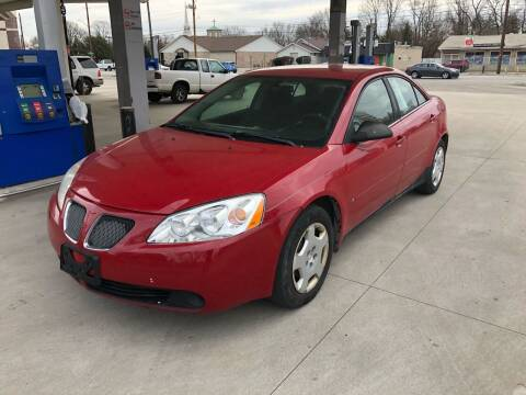2006 Pontiac G6 for sale at JE Auto Sales LLC in Indianapolis IN