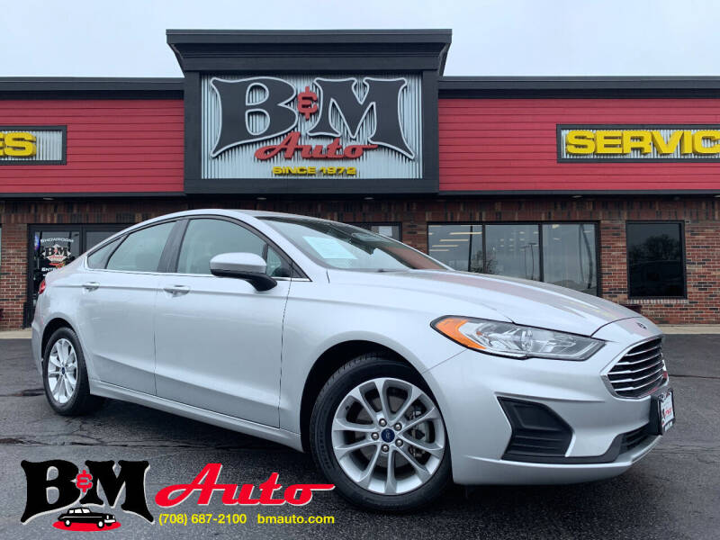 2019 Ford Fusion for sale at B & M Auto Sales Inc. in Oak Forest IL