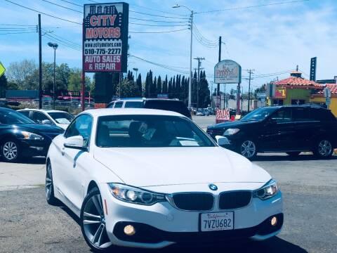 2016 BMW 4 Series for sale at City Motors in Hayward CA