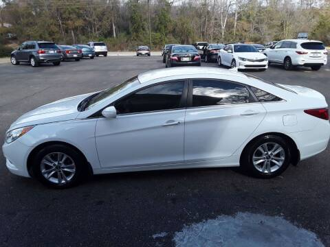 2013 Hyundai Sonata for sale at WALKER MOTORS LLC in Hattiesburg MS