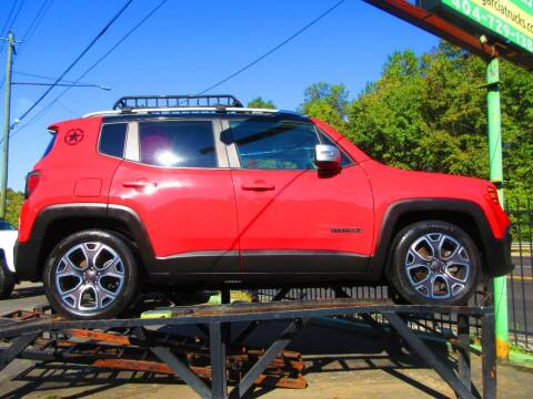 2017 Jeep Renegade for sale at Garcia Trucks Auto Sales Inc. in Austell GA