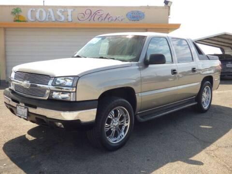 2003 Chevrolet Avalanche for sale at Coast Motors in Arroyo Grande CA