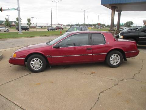 1991 Mercury Cougar for sale at Clairemont Motors in Eau Claire WI