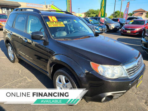 2010 Subaru Forester for sale at Super Cars Sales Inc #1 in Oakdale CA