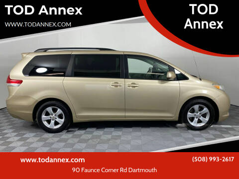 2011 Toyota Sienna for sale at TOD Annex in North Dartmouth MA