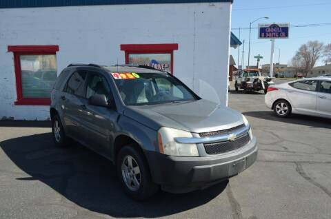 2005 Chevrolet Equinox for sale at CARGILL U DRIVE USED CARS in Twin Falls ID