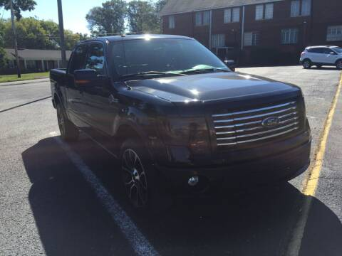 2012 Ford F-150 for sale at DEALS ON WHEELS in Moulton AL