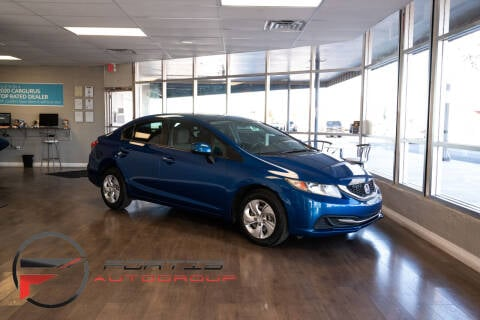 2013 Honda Civic for sale at Fortis Auto Group in Las Vegas NV