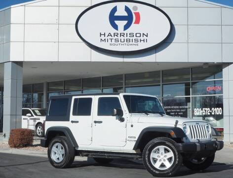 2018 Jeep Wrangler JK Unlimited for sale at Harrison Imports in Sandy UT