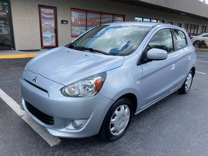 2015 Mitsubishi Mirage for sale at Top Garage Commercial LLC in Ocoee FL