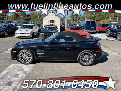 2005 Chrysler Crossfire for sale at FUELIN FINE AUTO SALES INC in Saylorsburg PA