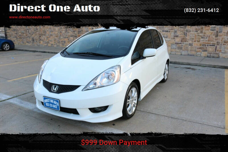 2009 Honda Fit for sale at Direct One Auto in Houston TX