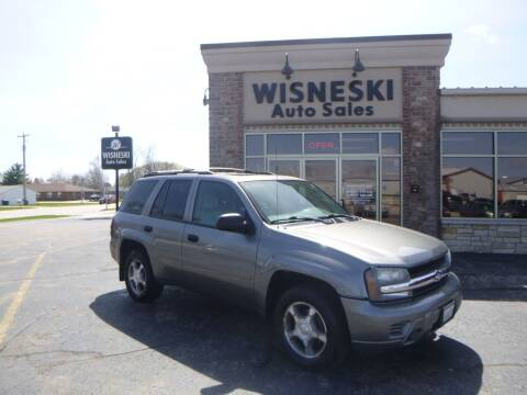2008 Chevrolet TrailBlazer for sale at Wisneski Auto Sales, Inc. in Green Bay WI