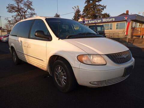 2002 Chrysler Town and Country for sale at All American Motors in Tacoma WA