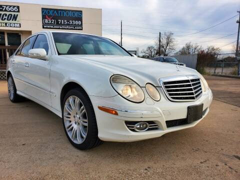 2008 Mercedes-Benz E-Class for sale at Zora Motors in Houston TX