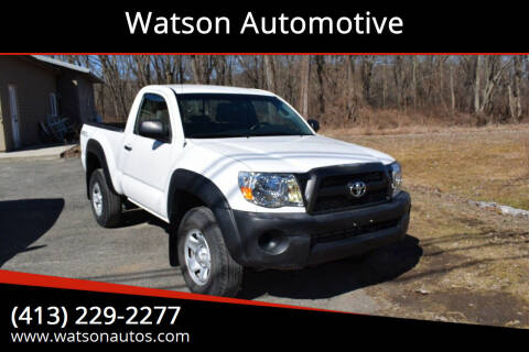 2011 Toyota Tacoma for sale at Watson Automotive in Sheffield MA