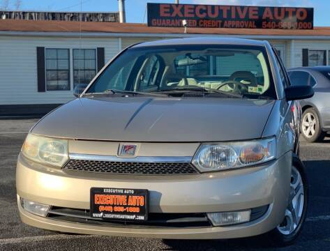 2004 Saturn Ion for sale at Executive Auto in Winchester VA
