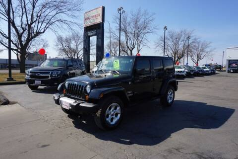 2013 Jeep Wrangler Unlimited for sale at Ideal Wheels in Sioux City IA