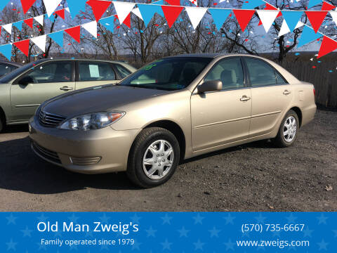 2006 Toyota Camry for sale at Old Man Zweig's in Plymouth Township PA