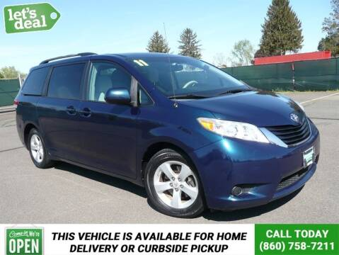 2011 Toyota Sienna for sale at Shamrock Motors in East Windsor CT