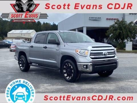 2017 Toyota Tundra for sale at SCOTT EVANS CHRYSLER DODGE in Carrollton GA